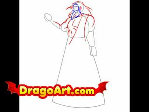 How To Draw Zeus Step By Step Youtube