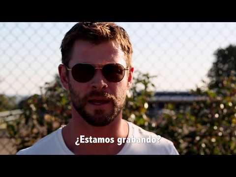 Saludo de Thor para Juan Martin del Potro - US Open 2017