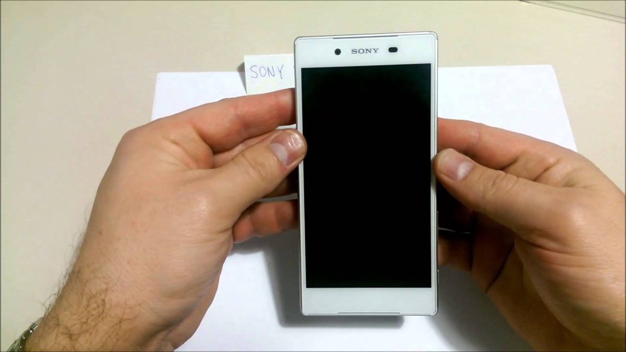 How to insert SIM and micro SD cards into SONY XPERIA Z5
