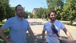 Иностранные футбольные болельщики делятся впечатлениями о Волгограде