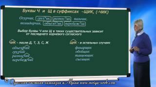 видео Русский язык 35. Суффикс. Виды суффиксов — Шишкина школа