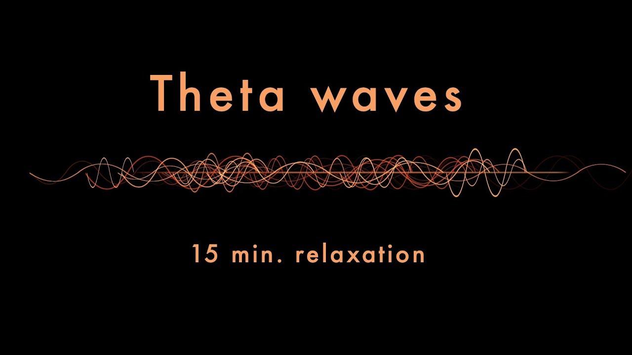 Relaxing Theta Waves (15 min) - Binaural Beats - Slow Down Your Brainwaves
