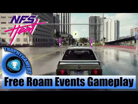Need For Speed Heat – Free Roam Events Gameplay