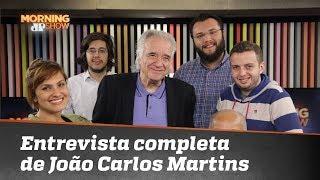 Confira a entrevista completa do Maestro João Carlos Martins