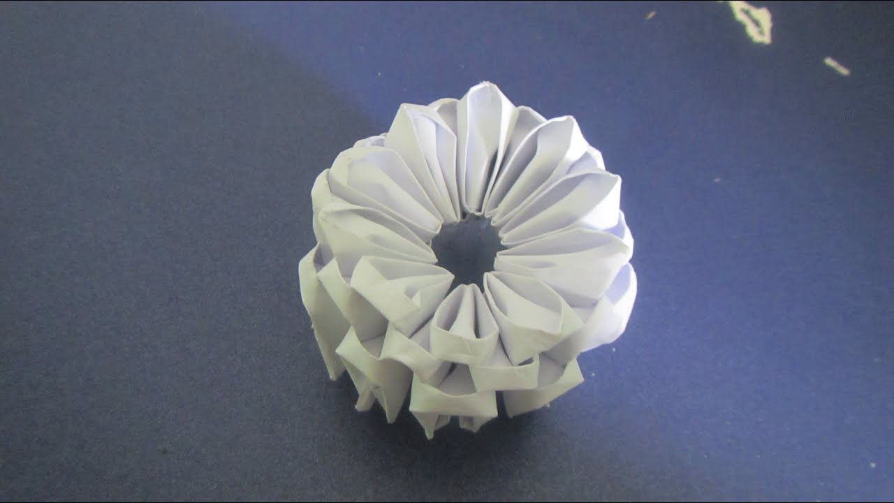 how to make a 3d origami base youtube