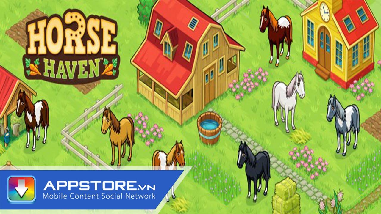 [Game] Horse Haven – Nông Trại Vui Vẻ 3D – AppStore.Vn