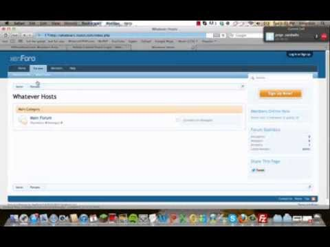 How To Install A Forum (Xenforo) Works With Any Forum. [FREE]