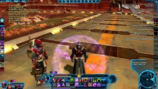 SWTOR Sith Sorcerer Quesh questing (gameplay)