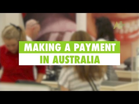 Learn English: Making a payment in Australia