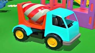 Lehrreicher Cartoon - Zahlen lernen auf dem Spielplatz