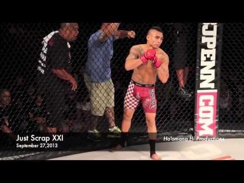 Ikaika Alidon vs Rob Midel (Just Scrap XXI Hilo,Hawaii)
