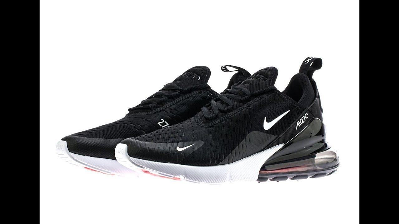 2e89c45e3a5217 Nike Air Max 270 AH8050 Triple Black Review - YouTube