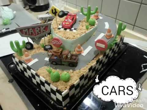tortenideen episode i cars torte mit foundant youtube. Black Bedroom Furniture Sets. Home Design Ideas