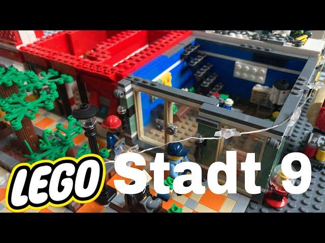 Lego Stadt Update 9/ Neue Häuser für die Fußgängerzone (1)