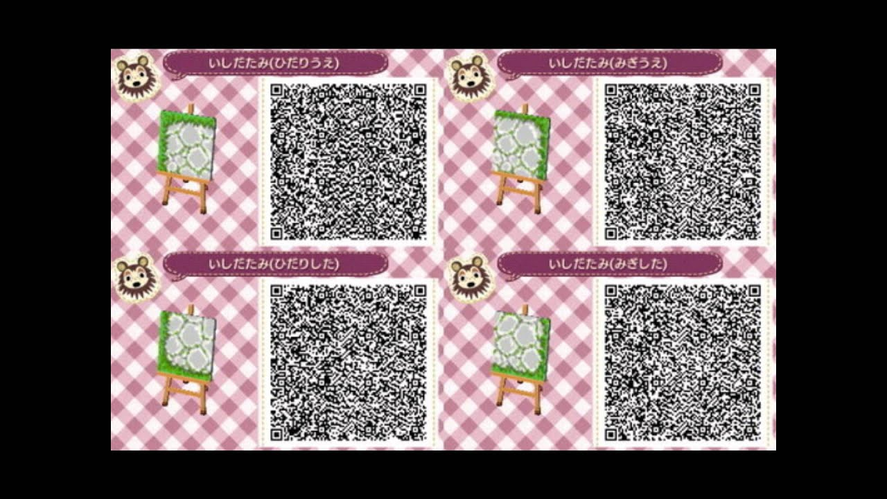 Animal Crossing New Leaf Qr Codes Part 2 Boden Desins Youtube