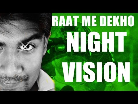 [Hindi] How Night Vision Works ? | Thermal Vision & Image Enhancement Explained