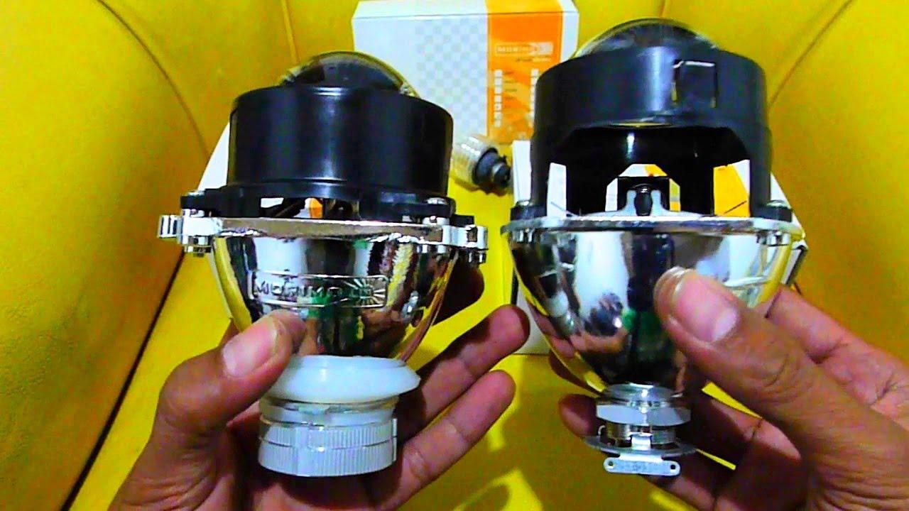 Side By Side Comparison Morimoto Mini H1 Vs Mini D2s