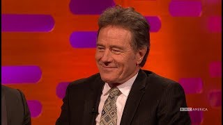 Bryan Cranston Exposed Himself in the Swiss Alps - The Graham Norton Show