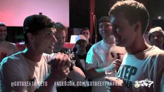 GOT BEEF? - The Kid vs David Kinch **$500 Battle**