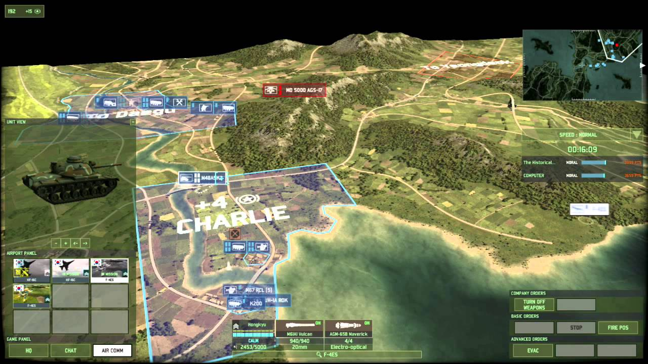 Wargame Red Dragon - A History of the Korean War (Pusan to Chinese ...