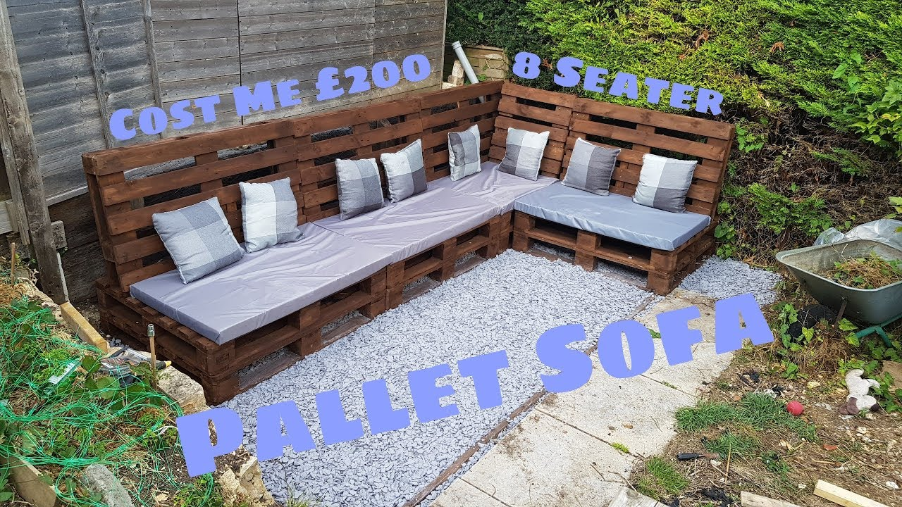 HOW I MADE A (SIMPLE) PALLET SOFA (TRANSFORMATION)