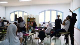 MANNEQUIN CHALLENGE AT SCHOOL!!