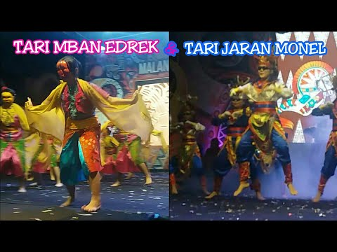 Malang night culture & art 2018 part 4 #TARIEDREK