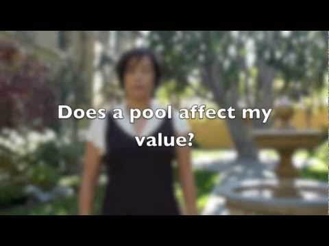 Does a pool affect my home's value?
