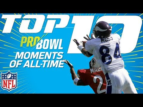 Top 10 Pro Bowl Moments of All-Time | NFL Highlights