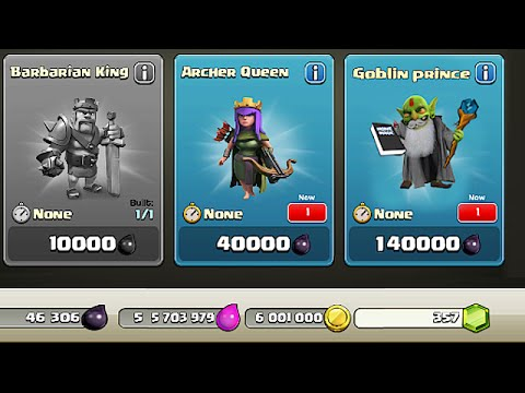 Clash Of Clans - NEW DARK HERO??? Goblin Prince (Hidden Character!?!)