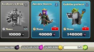 Clash Of Clans - NEW DARK HERO??? Goblin Prince (Hidden character!?!) thumbnail