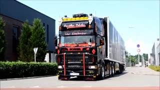 Spedition Schulze Scania 164L 580 V8 - LOUD OPEN PIPE SOUND