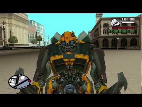 Transformers mod gta sa TF 4 AOE AUTOBOTS