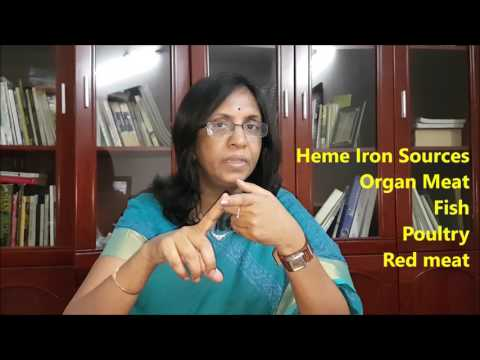 Iron Deficiency Anemia and Diet