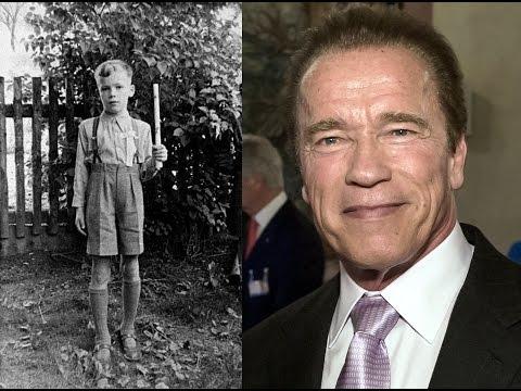 Как изменился Арнольд Шварценеггер от 5 до 69 лет