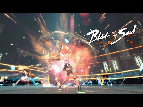 Blade And Soul KR - SunRise New Content Big Update Dungeons Raid Boss Video ShowCase