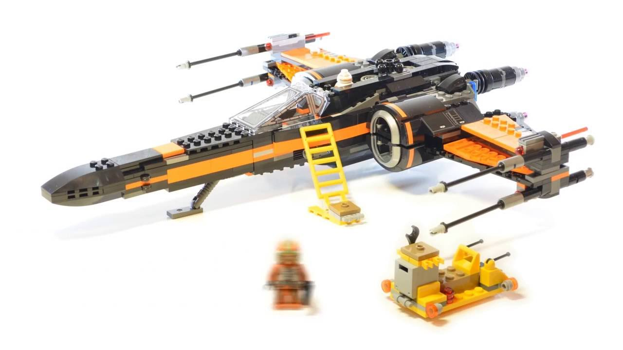 Lego star wars poe s x wing fighter review 75102 youtube - Lego Star Wars 75102 Poe S X Wing Fighter Stop Motion Review