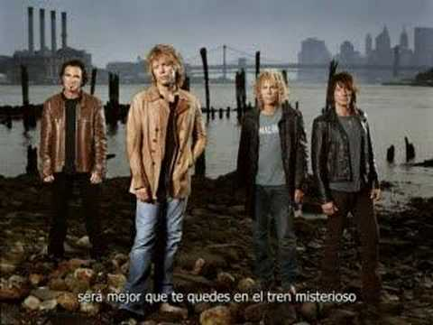 Bon Jovi - Mystery Train subtitulada al español