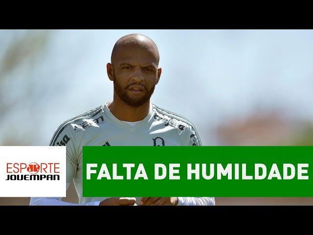 Falta de HUMILDADE isola Felipe Melo no Palmeiras! BASTIDORES!