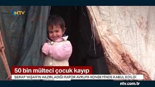 50 bin mülteci çocuk kayıp Resimi