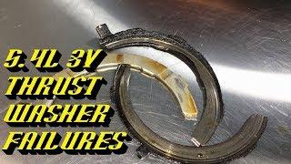 Форд F-150 5.4 л 3В Тритон двигун упорна шайба невдачі: що треба перевірити!