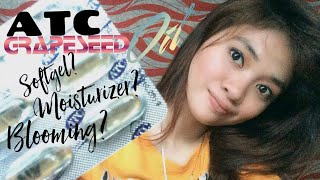 ATC Grapeseed Oil Review   Soft gel Pwedeng Moisturizer?