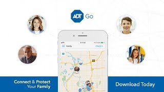 ADT App for Home Security On The Go - ADT Go Family Tracker App