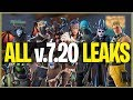 *NEW* Fortnite: ALL LEAKS IN v.720 Update! (Skins, Emotes, Tools, Gliders, Wraps)