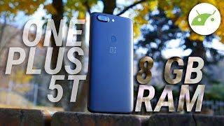 OnePlus 5T recensione: CHE SMARTPHONE! ITA | TuttoAndroid