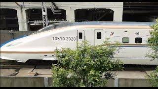 北陸新幹線E7系 東京2020大会 オリンピックラッピング車両