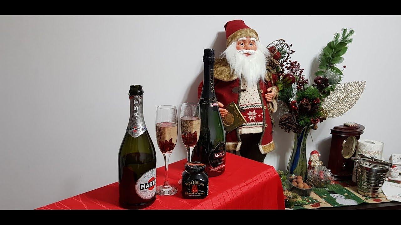 Happy new year 2018 champagne with wild hibiscus flowers youtube happy new year 2018 champagne with wild hibiscus flowers izmirmasajfo