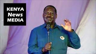 Raila Odinga SAYS Terrorism is a KILLING Negative Ideology!!!