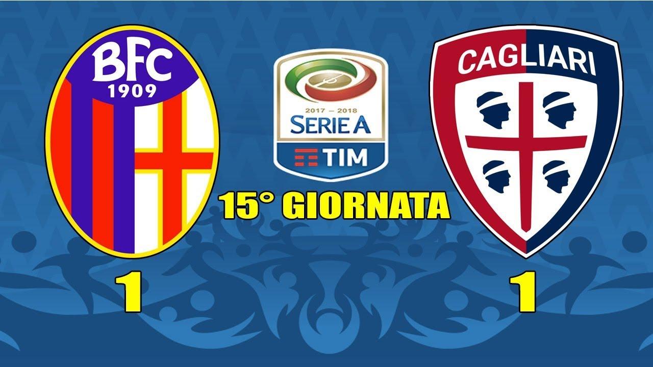 Live Reaction Bologna Cagliari 1 1 15 Giornata Serie