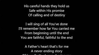 Bethel Music - Faithful To The End Lyrics